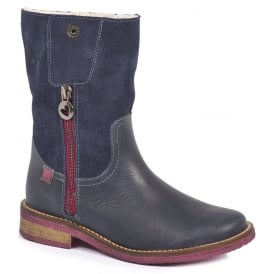 Warm Lined Zipped Boot