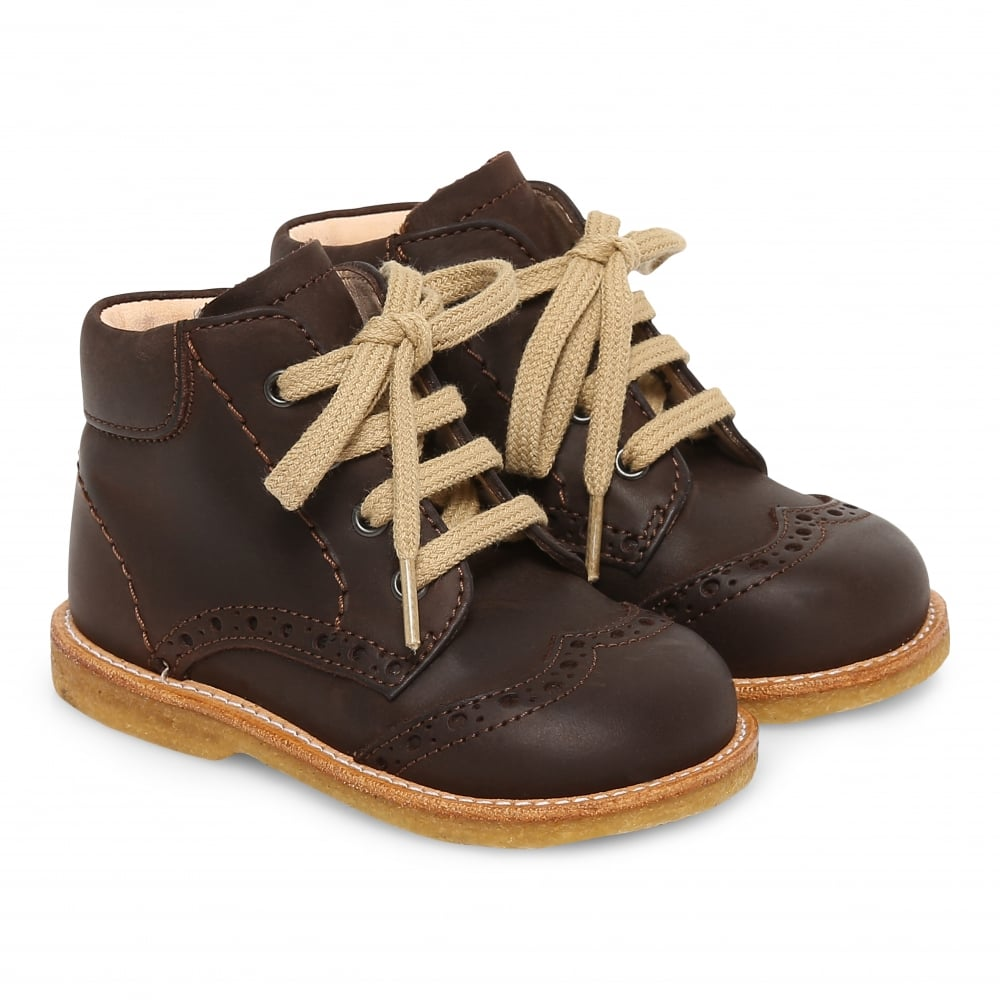 ANGULUS First Steps Lace Up Boots