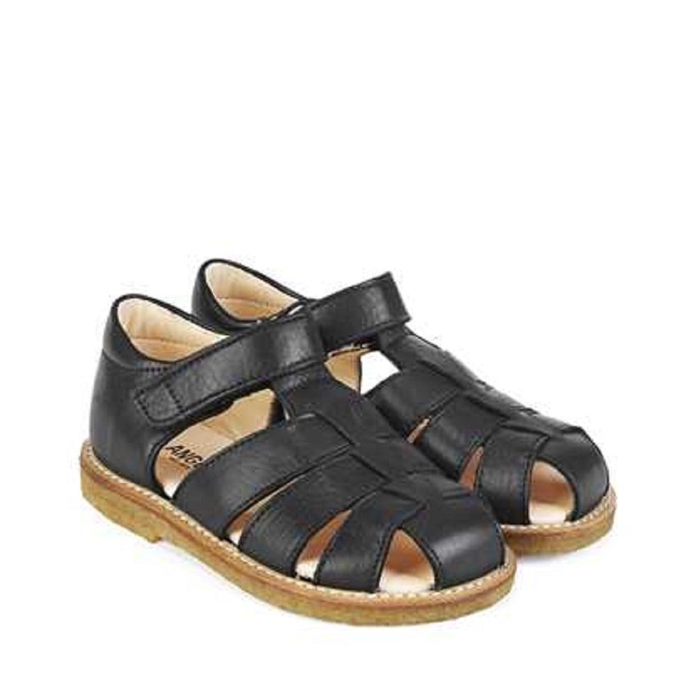 ANGULUS Sandals - black 0VWF7mXa