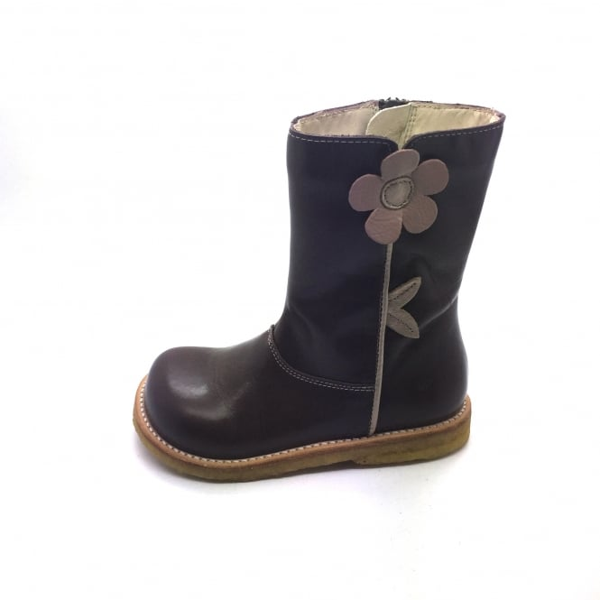 ANGULUS Long Boot with Flower Detail