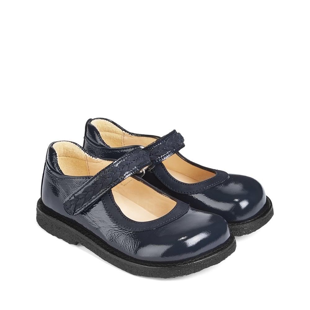 Mary Jane Leather Pram Shoes