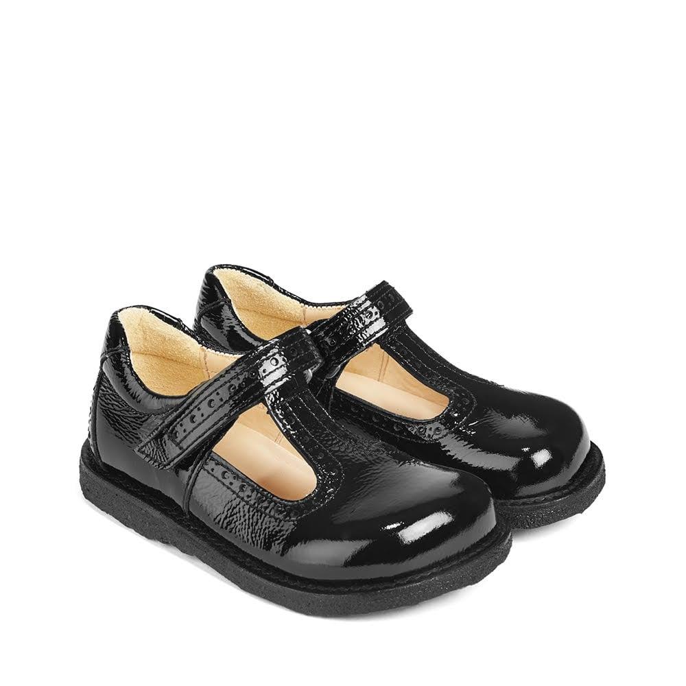 ANGULUS T Bar School Shoe - Girls