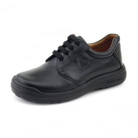 Biomecanics Laced Classic School Shoe Black
