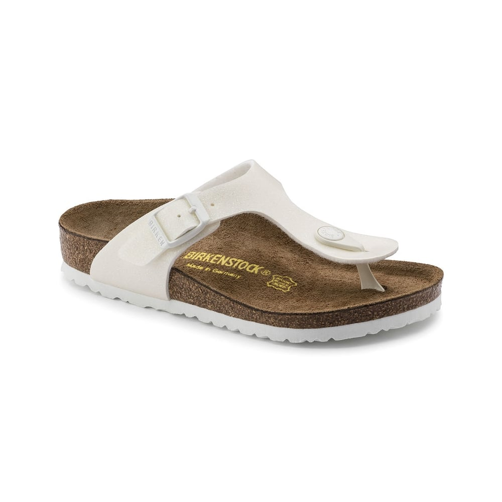 fb1a0fd2f401 BIRKENSTOCK Gizeh Kids Magic Galaxy White - Girls from Childrens ...