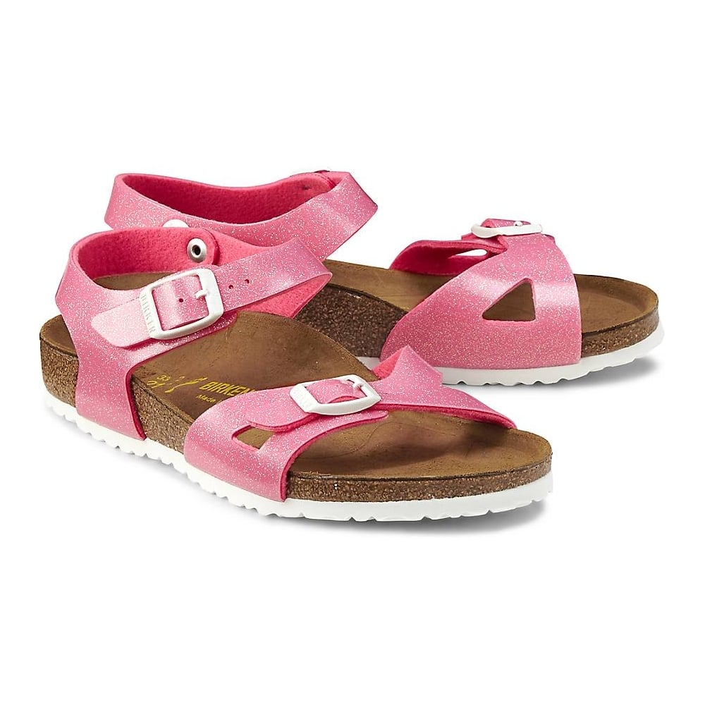 05892914d037 BIRKENSTOCK Rio Kids Magic Galaxy Pink - Girls from Childrens shoe ...