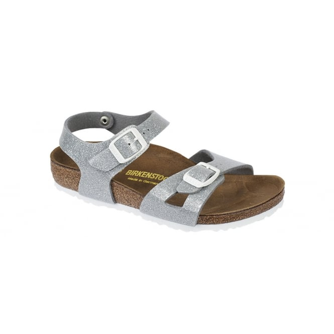 BIRKENSTOCK Rio Kids Magic Galaxy Silver