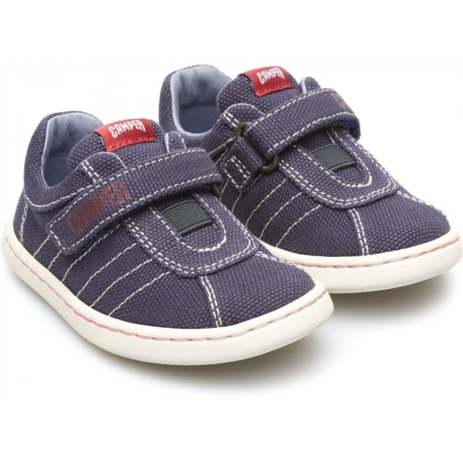 CAMPER Uno Canvas Velcro Shoe