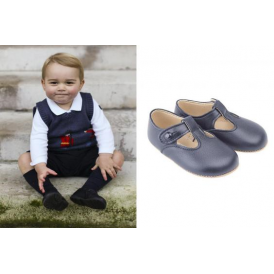 Alex Button Tbar Pram Shoe