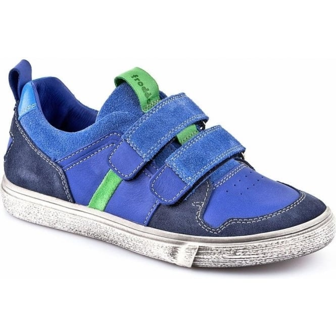 FRODDO Double Velcro Leather Trainer