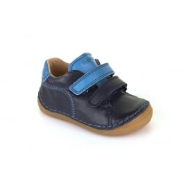 Froddo Double Velcro Shoe Navy Blue
