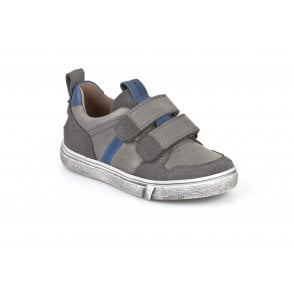 Froddo Boys Casual Shoes In Denims  Blue Leather with Bumper Toe Protection