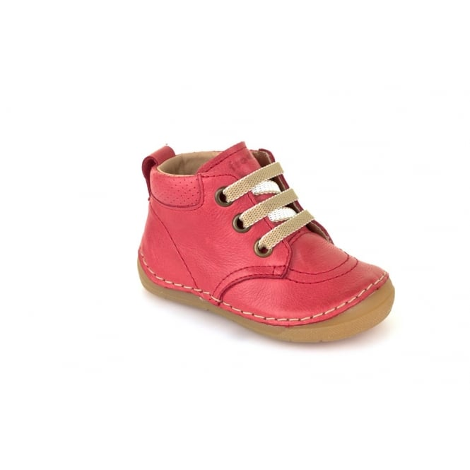 FRODDO Laced Short Boot Red
