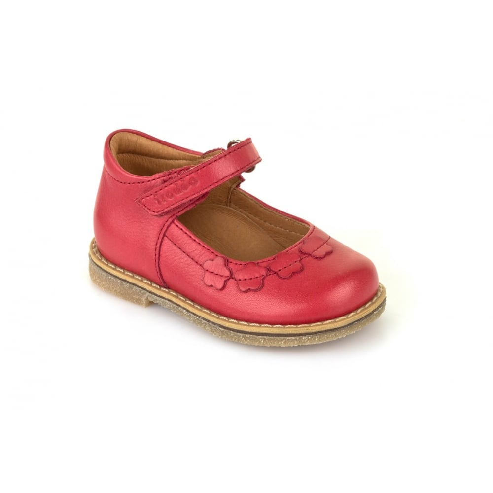 ea9db53d647 FRODDO Froddo Mary Jane Stitch Down Red - Girls from Childrens shoe ...