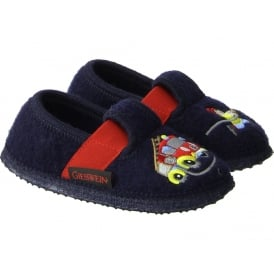 Slipper With Fire Engine