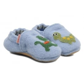 Slippers With Dragon Motif