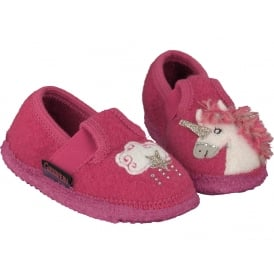Unicorn Wool Slippers