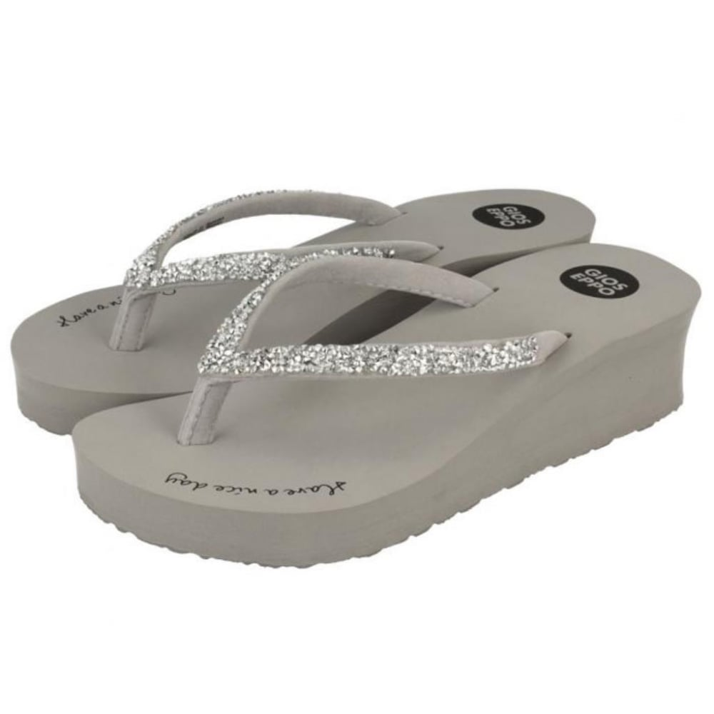 57bf58cc71a GIOS EPPO Essence Wedge Flip Flop - Girls from Childrens shoe company UK