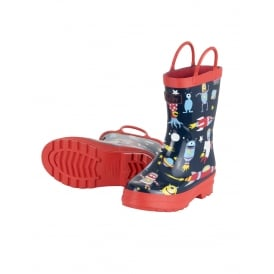 Hatley Space Aliens Rubber Boots