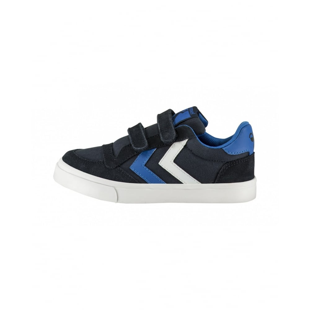 separation shoes 60ea0 2648e HUMMEL Stadil Canvas Low Jr Total Eclipse