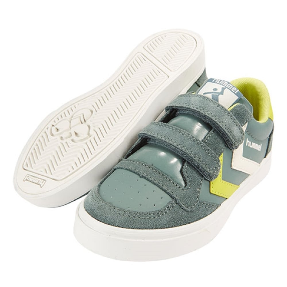 online store 979c2 ae3a0 HUMMEL Stadil Jr Low Leather Pine Green