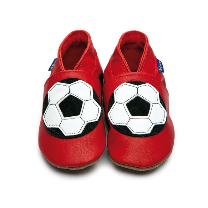 INCH BLUE Football Shoe Red