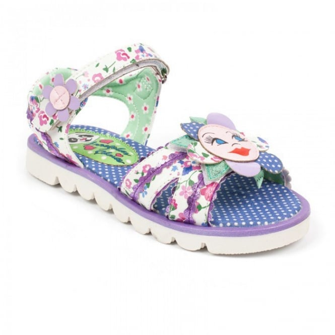 IRREGULAR CHOICE Flower Face Sandal