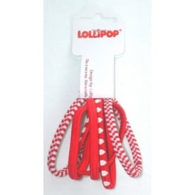 Hair Bobbles Red Assorted