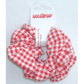 Scrunchie Red Gingham