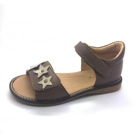 Closed Heel Sandal With Contrast Star Detail