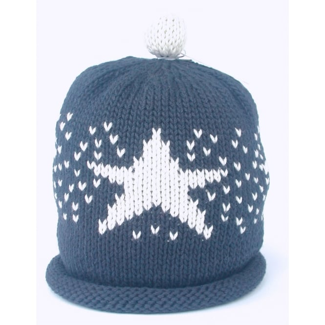 MERRY BERRIES Knitted Cotton Hats Star