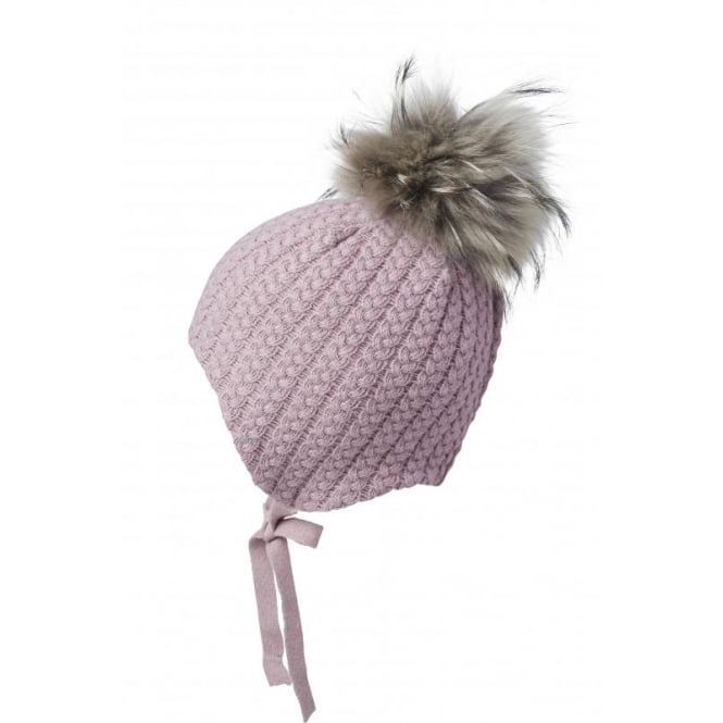 MP DENMARK Moritz Cashmere Hat With Ties & Bobble