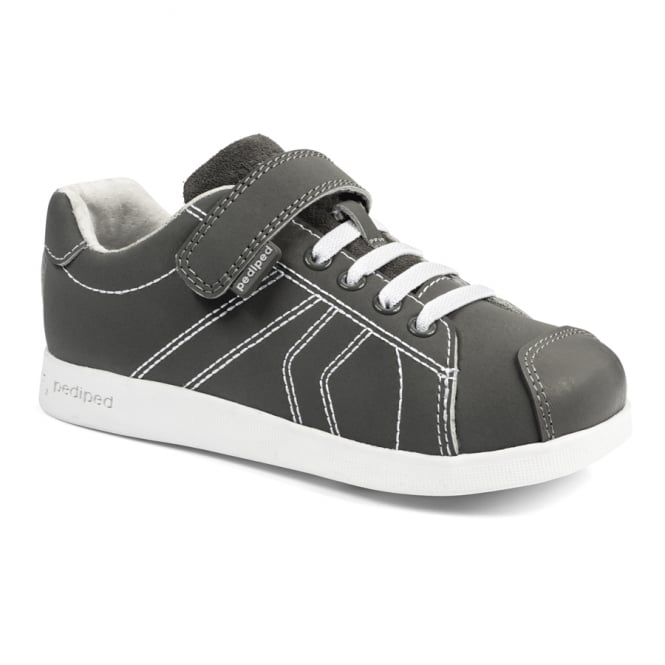 PEDIPED Jake Grey Leather
