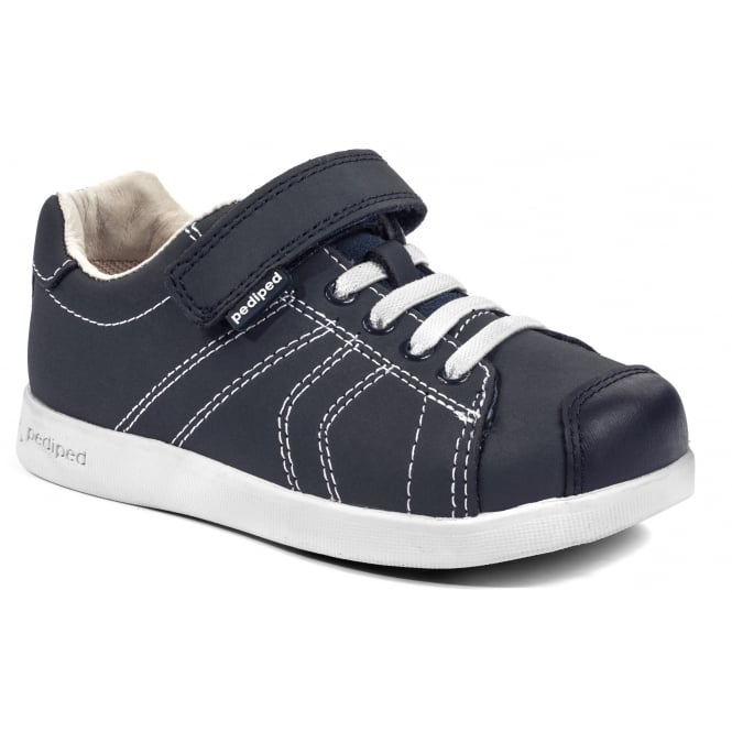 PEDIPED Jake Navy Leather