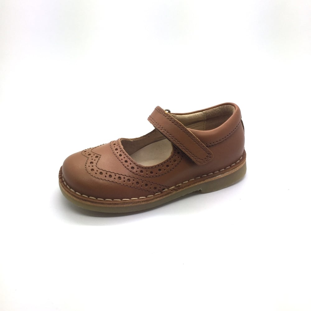 bb2bb4c77f4 PETASIL Claret Brogue Style Mary Jane - Girls from Childrens shoe ...