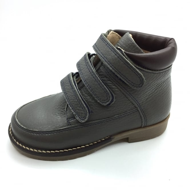 PETASIL Velcro Boot Grey