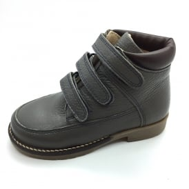 Velcro Boot Grey