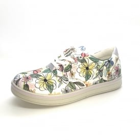 Alienor Floral Laced Trainer