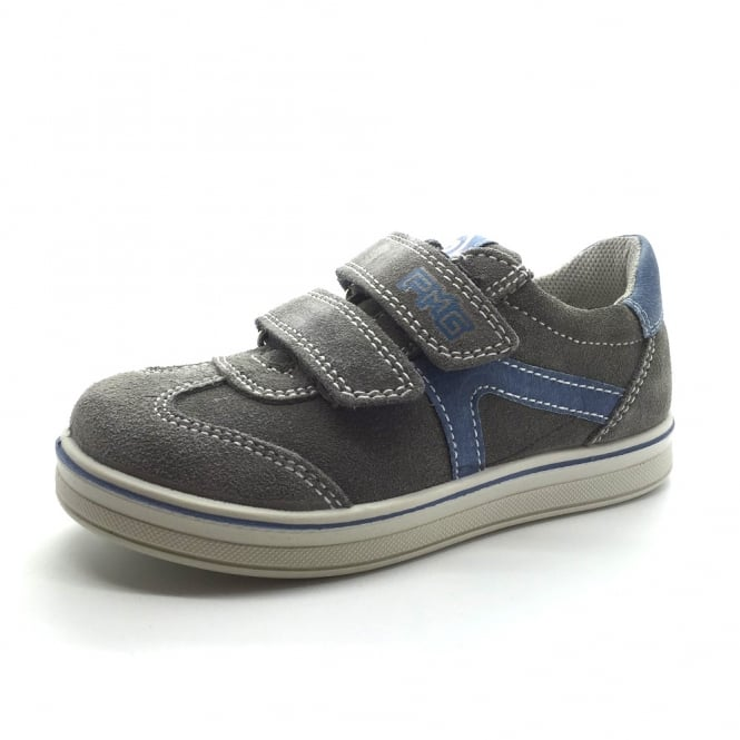 PRIMIGI Emidio Suede Leather Trainer Style Shoe