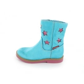 Boot With Pink Stars
