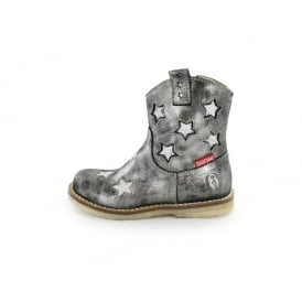 Boot With Silver Stars